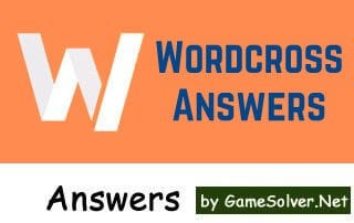 Wordcross Answers