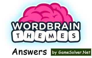 WordBrain Themes Answers