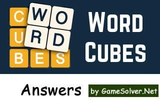 Word Cubes Answers