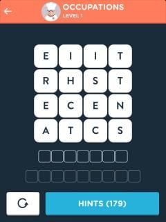 Wordbrain 2 Answers And Solutions By Game Solver