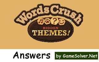 Words Crush Hidden Themes