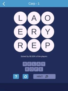 Word Smart Carp Level 1