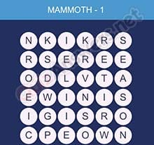 Word Smart Mammoth Level 1