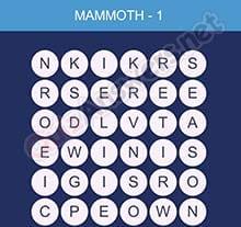 Word Smart Mammoth Level 1