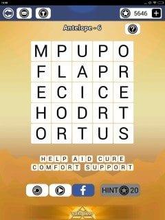 Word Camp Antelope Level 1-6