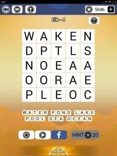 Word Camp Elk Level 1-4