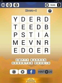 Word Camp Moose Level 1-4