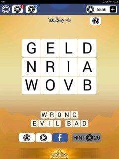 Word Camp Turkey Level 1-6