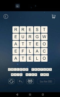 Word Cubes Hamster Level 7