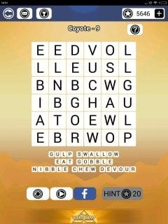 Word Camp Coyote Level 1-9
