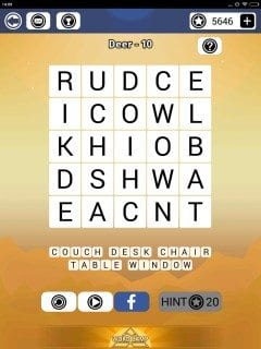 Word Camp Deer Level 1-10