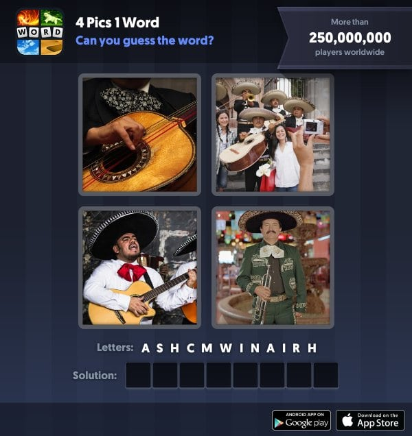 4 Pics 1 Word Daily Puzzle September 22 2018 Answers