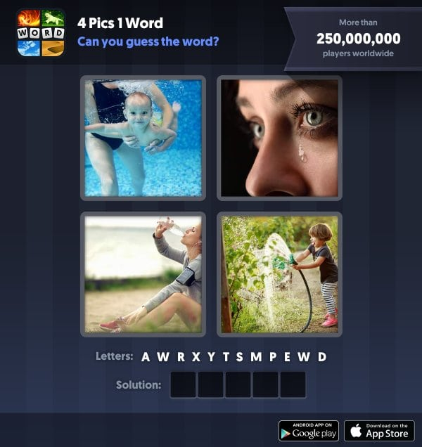 4 Pics 1 Word Daily Puzzle October 5 2018 Halloween Answers