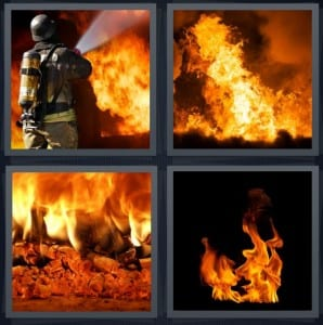 Fireman, Fire, Burn, Flame