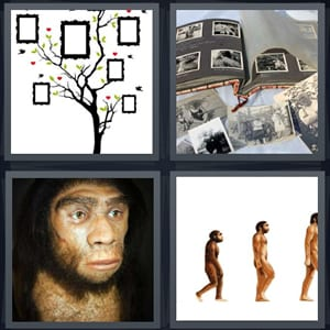 4 Pics 1 Word 8 Letter Answers For Frames Photographs Caveman