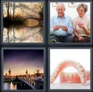 Lake, Cards, River, Dentures