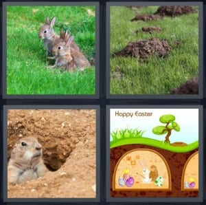 Rabbit, Mole, Prairie Dog, Easter
