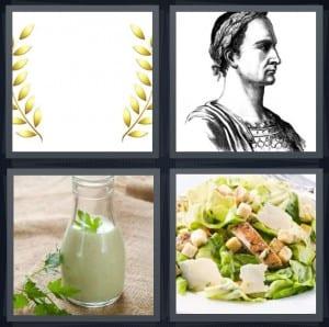 Crown, Rome, Dressing, Salad