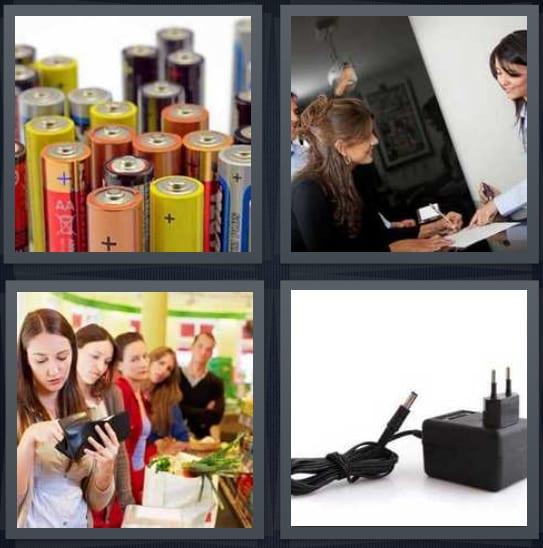 Batteries, Credit, Pay, Plug