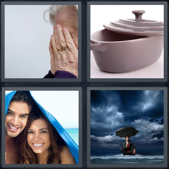 4 Pics 1 Word 5 Letters Answers