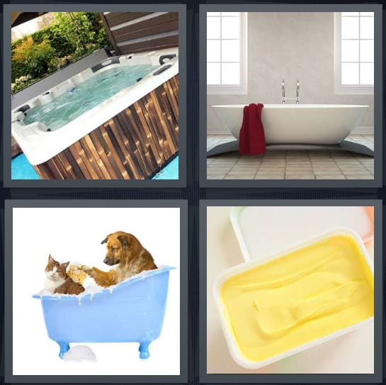 Jacuzzi, Bath, Wash, Butter