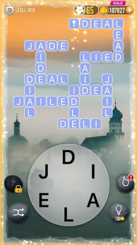 Word Crossy Level 1019 Answers