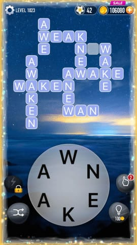 Word Crossy Level 1023 Answers