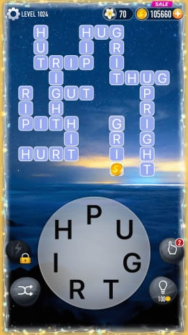 Word Crossy Level 1024 Answers
