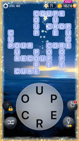 Word Crossy Level 1025 Answers