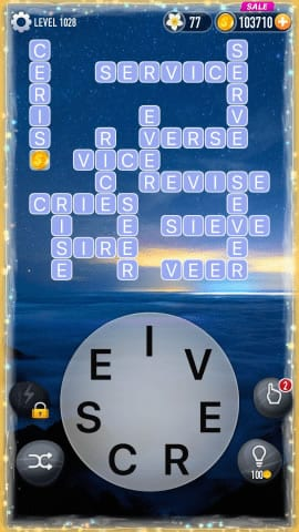 Word Crossy Level 1028 Answers