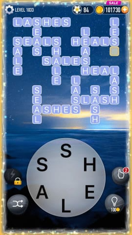Word Crossy Level 1033 Answers