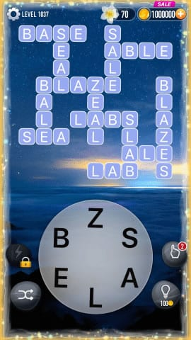 Word Crossy Level 1037 Answers