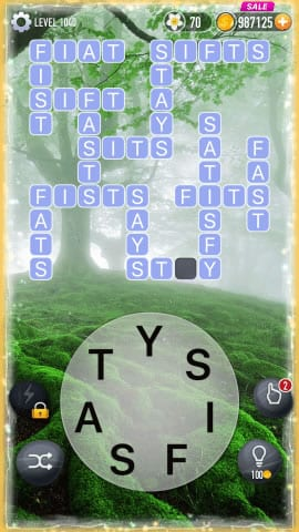 Word Crossy Level 1040 Answers