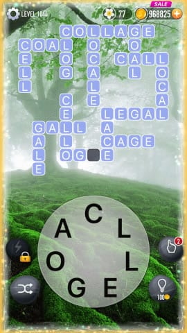 Word Crossy Level 1044 Answers
