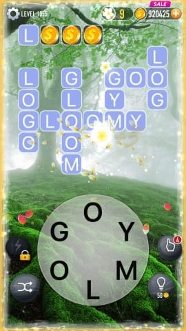 Word Crossy Level 1055 Answers