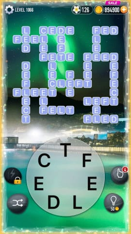Word Crossy Level 1066 Answers