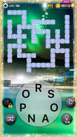 Word Crossy Level 1068 Answers