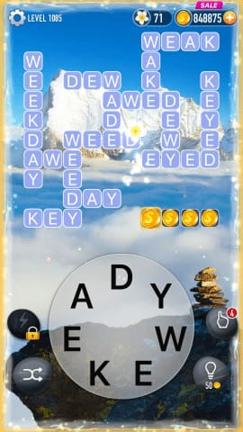 Word Crossy Level 1085 Answers
