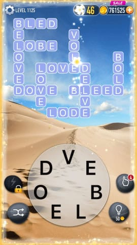 Word Crossy Level 1125 Answers