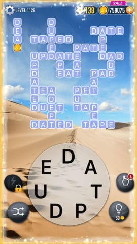 Word Crossy Level 1126 Answers