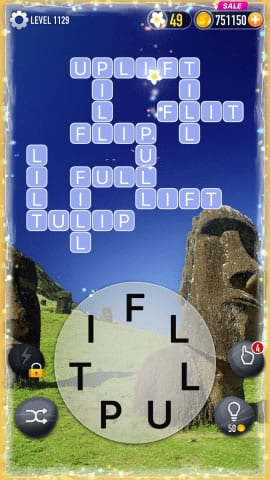 Word Crossy Level 1129 Answers