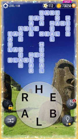 Word Crossy Level 1139 Answers