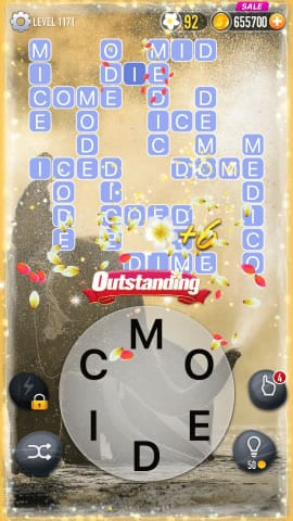 Word Crossy Level 1171 Answers