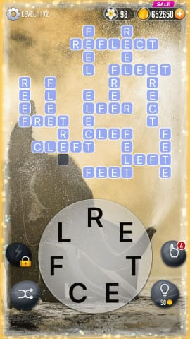 Word Crossy Level 1172 Answers