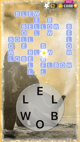 Word Crossy Level 1178 Answers