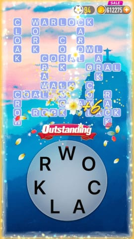 Word Crossy Level 1188 Answers