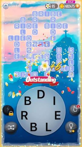 Word Crossy Level 1192 Answers