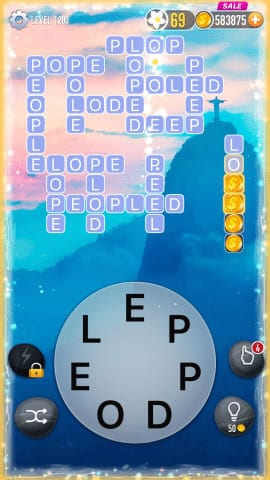 Word Crossy Level 1200 Answers