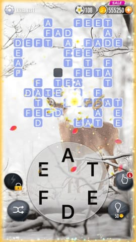 Word Crossy Level 1211 Answers