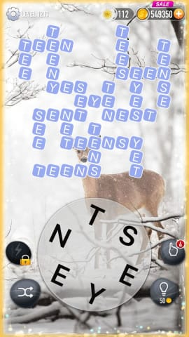 Word Crossy Level 1213 Answers